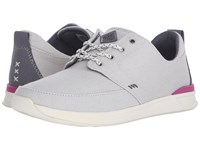 Reef Rover Low Grey Women's Lace Up Casual Shoes Gray