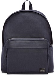 Porter Navy Nylon Smoky Day Pack Backpack