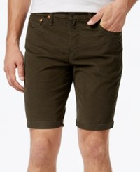 Levi's Men's 511 Cut Off Corduroy Shorts Forest Night