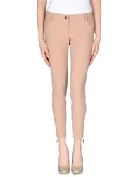 Elisabetta Franchi 24 Ore Trousers 3 4 Length Trousers Women Skin Color