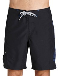 Bench Orator Logo Swim Trunks Black