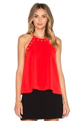 Amanda Uprichard Montauk Top Red