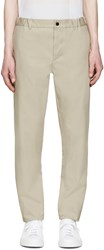 Stephan Schneider Beige Woven Cross Trousers