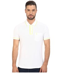 Original Penguin Earl Polo Bright White 1 Men's Short Sleeve Pullover