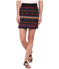 Sam Edelman Beaded Mini Skirt Black Women's Skirt