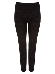 Phase Eight Amina Sparkle Jeggings Black