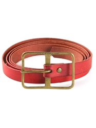 Arts And Science Skinny Belt Red