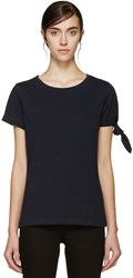 J.W.Anderson Navy Single Knot T Shirt