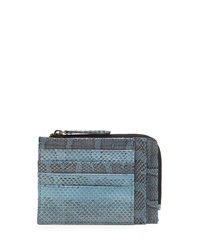 Beirn Watersnake Double Sided Card Case Cobalt
