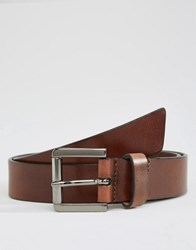Royal Republiq Coil Parc Leather Belt In Brown Brown
