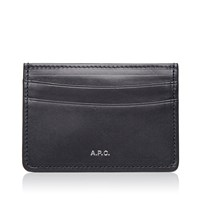 A.P.C. Card Holder Blue