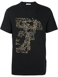 Versace Collection Studded T Shirt Black