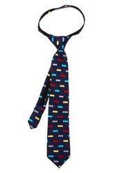 Boy's Cufflinks Inc. 'Batman' Zipper Silk Tie