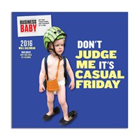 Chronicle Books 2016 Wall Calendar Business Baby