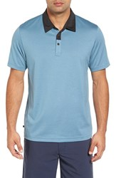 Travis Mathew Men's Suh Trim Fit Golf Polo