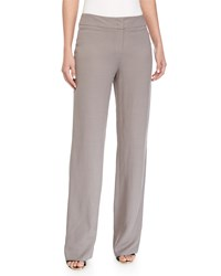 Escada Banded Wide Leg Pants Shadow