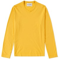 Our Legacy Long Sleeve U Neck Tee Yellow