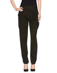 Polo Jeans Company Trousers Casual Trousers Women Dark Green