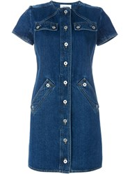 Courra Ges 'R02' Denim Dress Blue