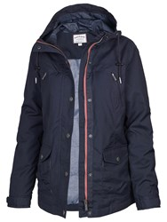 Fat Face Winchester Warm And Dry Jacket Navy