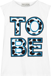 Etre Cecile To Be Printed Cotton Jersey Tank