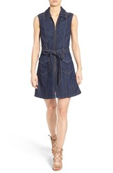 Women's 7 For All Mankind Sleeveless Denim Dress