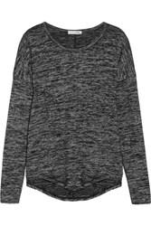 Rag And Bone Hudson Stretch Jersey Top Anthracite