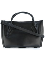 Desa 1972 Removable Strap Small Tote Black