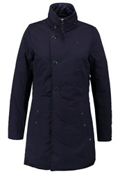 G Star Gstar Minor Classic Coat Winter Coat Dark Saru Blue Dark Blue