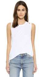 Feel The Piece Mattias Cutout Tank White