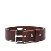 Tanner Goods Standard Belt Cognac And Stainless Steel