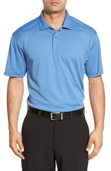 Cutter And Buck Men's Big Tall 'Genre' Drytec Moisture Wicking Polo Sea Blue