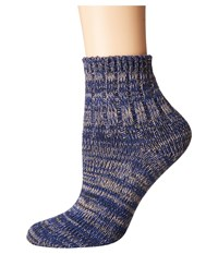 Richer Poorer Dune Ankle Navy Women's Crew Cut Socks Shoes