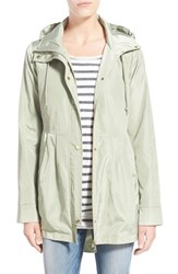 Women's Sam Edelman Hooded Drop Tail Utility Jacket