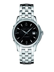 Hamilton Jazzmaster Viewmatic Auto Stainless Steel Bracelet Watch Silver Black