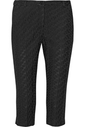 Missoni Cropped Crochet Knit Skinny Pants