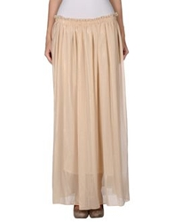 Lucy And Co. Long Skirts Beige