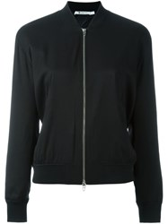 Alexander Wang T By Lightweight Bomber Jacket Black