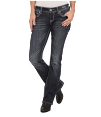 Stetson 818 Hollywood Fit Mettallica Blue Women's Jeans