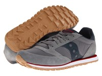 Saucony Jazz Low Pro Charcoal Red Sp 2013 Men's Classic Shoes Gray