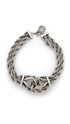 Giles And Brother Heavy Rope Chain Necklace