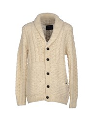 Scotch And Soda Knitwear Cardigans Men Ivory