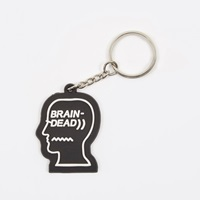Brain Dead Logo Key Chain Black