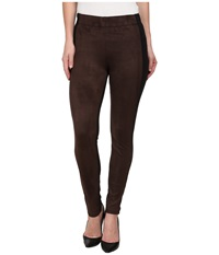 Miraclebody Jeans Harley Pontesuede Leggings Brown Women's Casual Pants