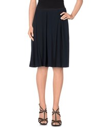 Emporio Armani Skirts Knee Length Skirts Women Dark Blue