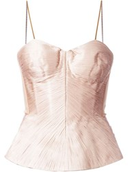 Maria Lucia Hohan 'Malawi' Top Nude And Neutrals