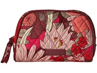 Vera Bradley Small Zip Cosmetic Bohemian Blooms Cosmetic Case Multi