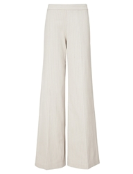 J.W.Anderson Beige Stripe Button Back Trousers