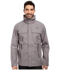 The North Face Kassler Field Jacket Tnf Medium Grey Heather Men's Coat Gray