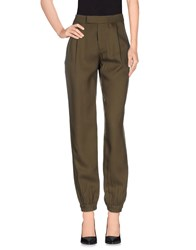 French Connection Trousers Casual Trousers Women Military Green